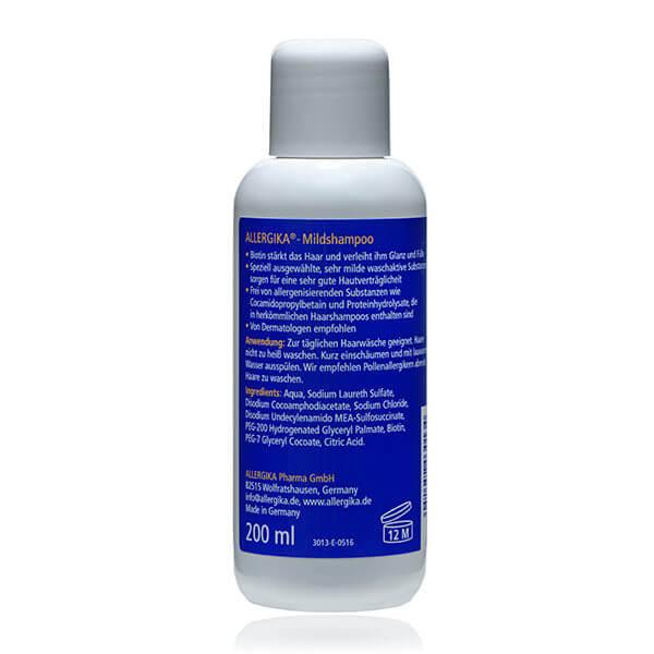 "<span style=""color: #003a8c;""><strong>Мягкий шампунь</strong> - ALLERGIKA® Mild shampoo</span>"