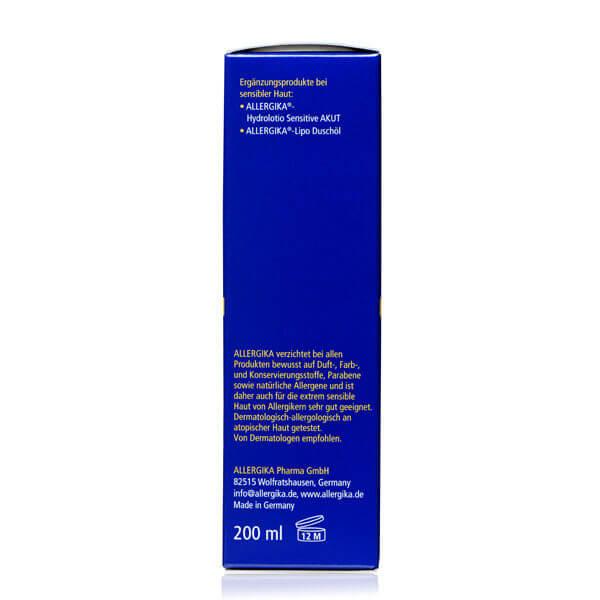 "<span style=""color: #003a8c;""><strong>Липолосьон для тела для чувствительной кожи</strong> - ALLERGIKA® Lipolotio Sensitive REPAIR</span>"